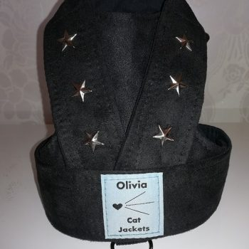 Studded Stars - Faux Suede